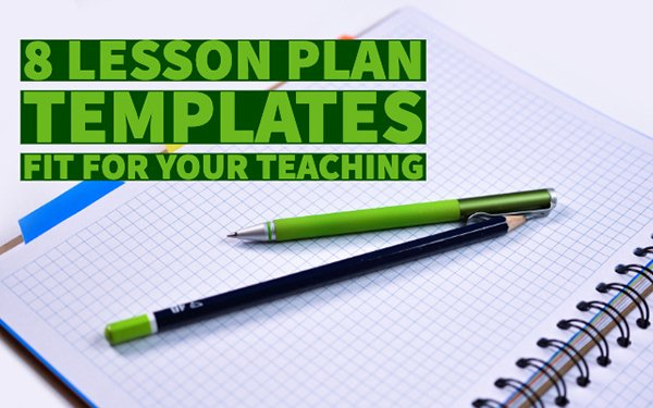 Free Blogger Templates for Teachers Beautiful 8 Free Lesson Plan Templates Fit for Your Teaching Bookwid S