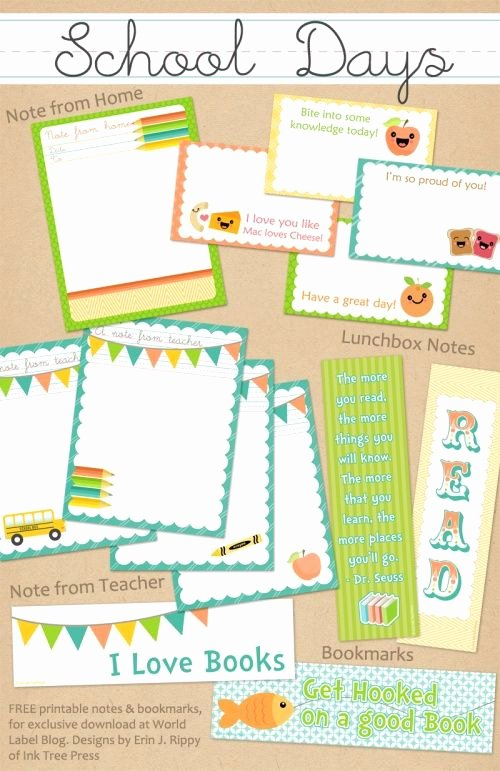 Free Blogger Templates for Teachers Fresh 29 Best Images About Kids & School Labels Printables and Templates On Pinterest