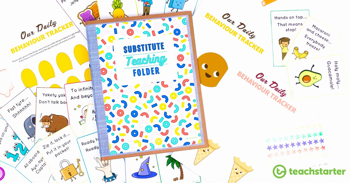 Free Blogger Templates for Teachers Luxury Substitue Teaching Folder Templates for Classroom Teachers