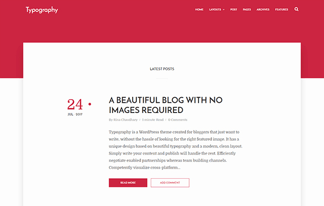 Free Blogger Templates for Teachers New Typography Simple Blogger Template
