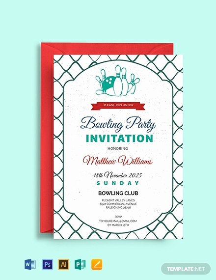 Free Bowling Invitation Template Fresh 898 Free Invitation Templates In Microsoft Word [download