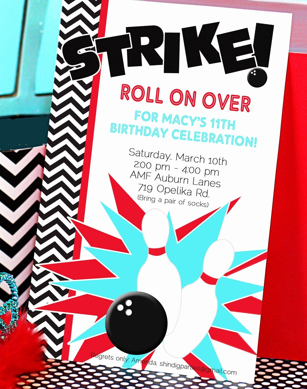 Free Bowling Invitations Template Lovely Chandeliers & Pendant Lights