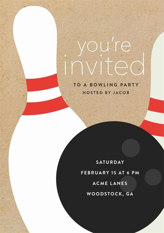 Free Bowling Party Invitations Best Of Best 25 Bowling Party Invitations Ideas On Pinterest