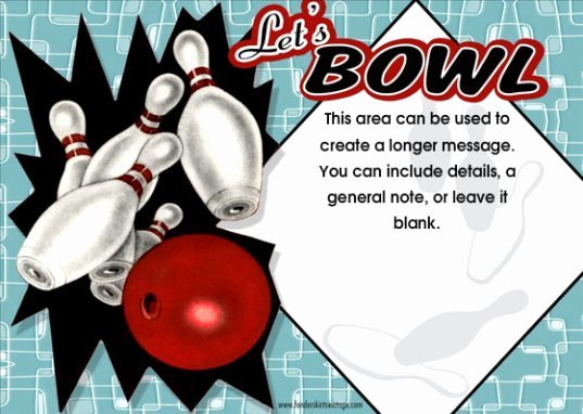 Free Bowling Party Invitations New Line Invitations Pros & Cons Advice From A Professional