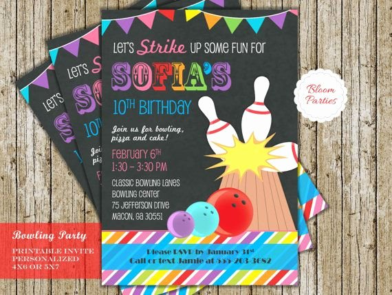 Free Bowling Party Invitations Unique Best 25 Bowling Party Invitations Ideas On Pinterest