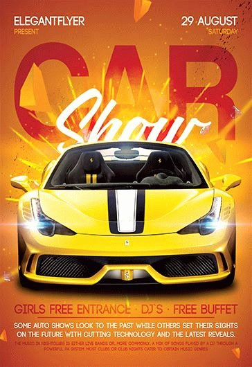 Free Car Show Flyer Template Best Of Car Show