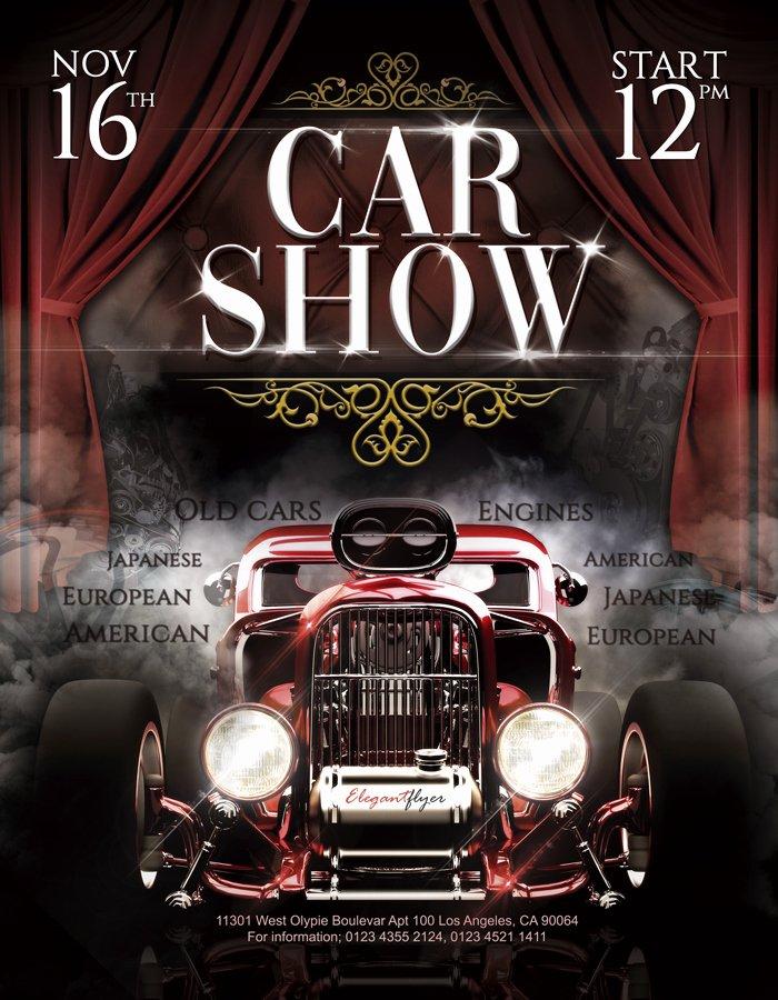 Free Car Show Flyer Template Inspirational Car Show – Free Flyer Psd Template – by Elegantflyer