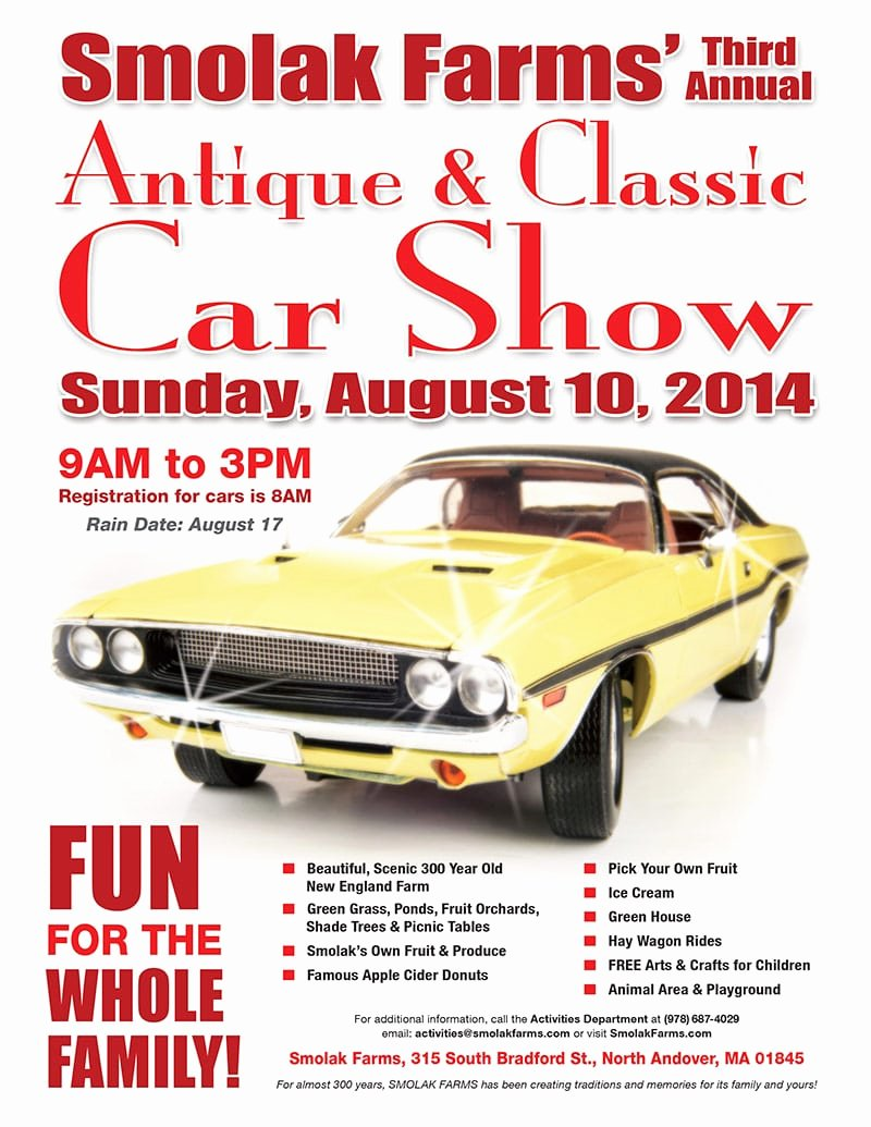 Free Car Show Flyer Template Lovely 5 Free Car Show Flyer Templates Excel Pdf formats