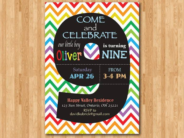 Free Chalkboard Invitation Templates Luxury 8 Chalkboard Birthday Invitation Designs & Templates Psd Ai