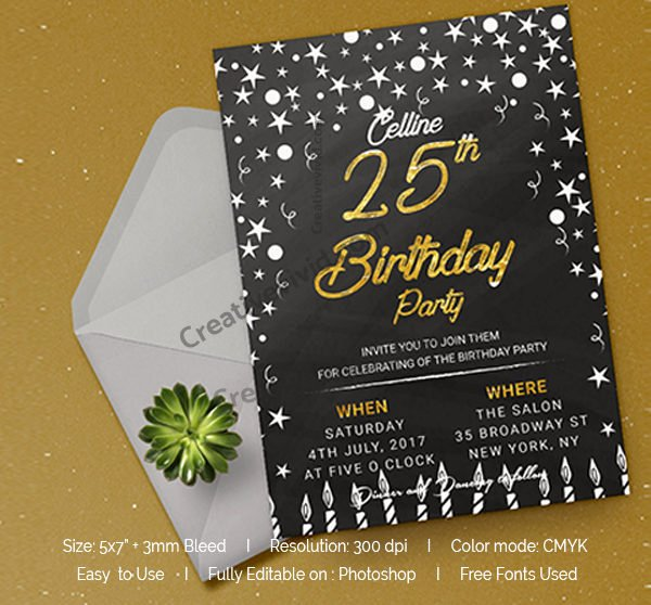 Free Chalkboard Invitation Templates New Chalkboard Invitation Template 27 Free & Premium Download