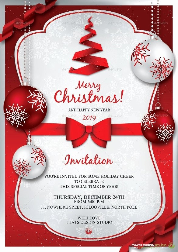 Free Christmas Invitation Templates Word Beautiful Christmas Invitation Sample Cobypic