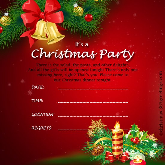 Free Christmas Invitation Templates Word Inspirational Christmas Invitation Template and Wording Ideas Christmas Celebration All About Christmas