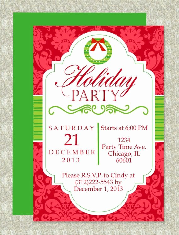 Free Christmas Invitation Templates Word Lovely Christmas Party Microsoft Word Invitation Template