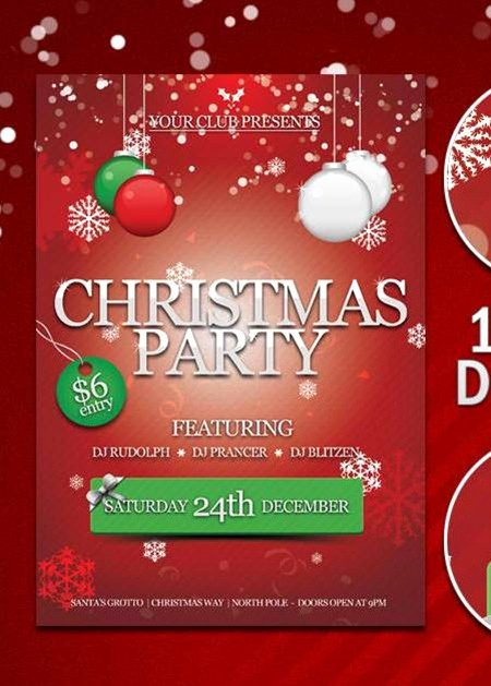 Free Christmas Poster Template Unique Free Psd Template File Page 35 Newdesignfile