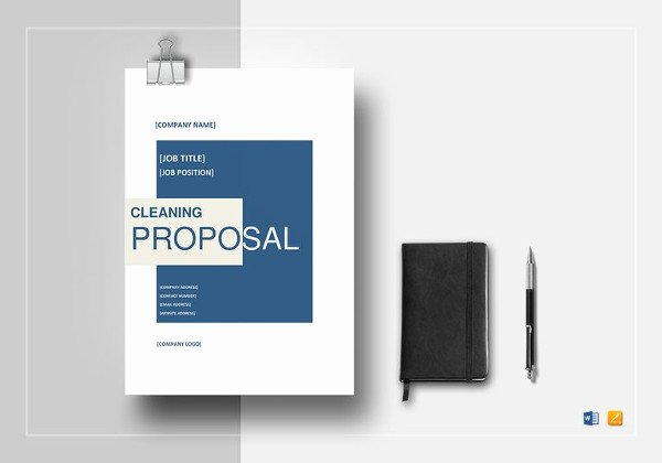 Free Cleaning Proposal Template Beautiful 15 Cleaning Proposal Templates Word Pdf Apple Pages Google Docs