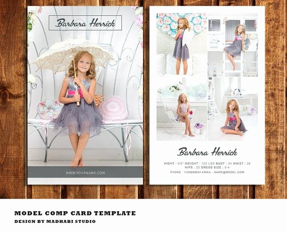 Free Comp Card Template Luxury Modeling P Card Template Model P Card Fashion Model