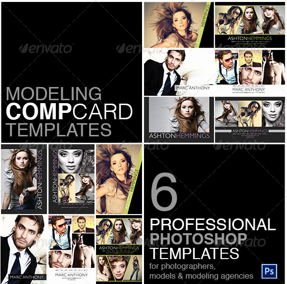 Free Comp Card Template Luxury P Card Template