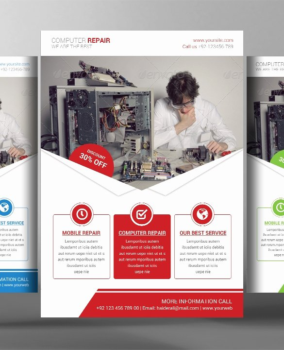 Free Computer Repair Flyer Template Elegant 26 Puter Repair Flyer Templates Psd Ai Eps format