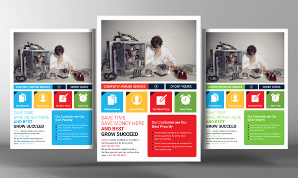 Free Computer Repair Flyer Template Inspirational 16 Puter Repair Service Flyers Psd Template Simple