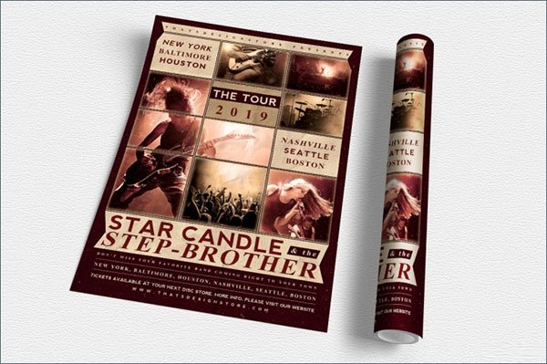 Free Concert Flyer Template Beautiful 65 Concert Flyer Templates Free Psd Vector Png Eps Ai Downloads