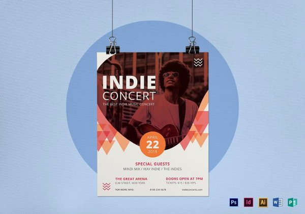 Free Concert Flyer Template Unique 43 Concert Flyer Templates & Designs Psd