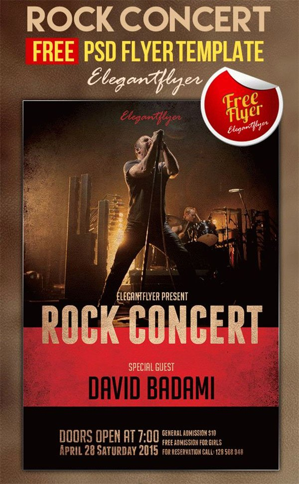 Free Concert Poster Template Beautiful 65 Concert Flyer Templates Free Psd Vector Png Eps Ai Downloads