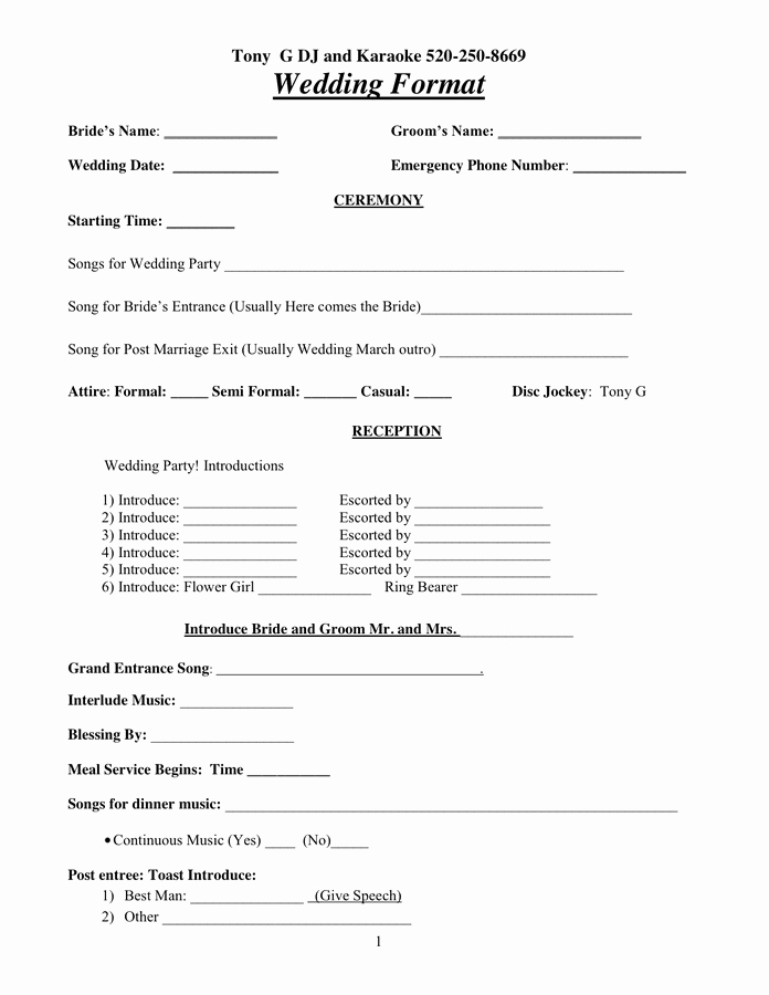 Free Dj Contract Template Unique Dj Contract In Word and Pdf formats
