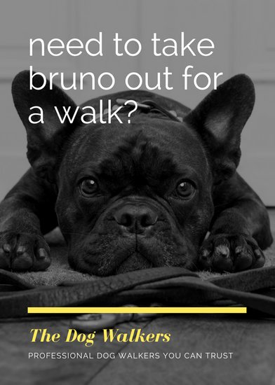 Free Dog Walking Flyer Template Beautiful Customize 76 Dog Walker Flyer Templates Online Canva