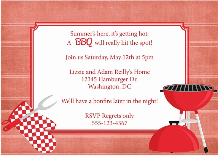 Free Downloadable Picnic Invitation Template Beautiful Bbq Invitation Templates Free Summer Pinterest