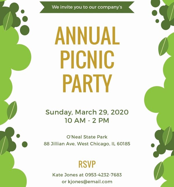 Free Downloadable Picnic Invitation Template Beautiful Picnic Invitation Template – 20 Free Psd Vector Eps Ai format Download