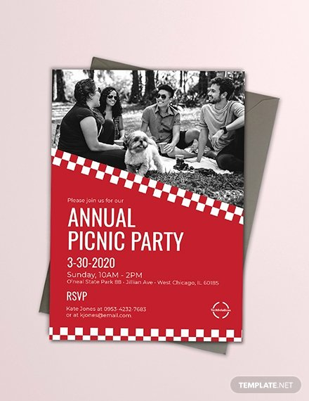 Free Downloadable Picnic Invitation Template Elegant Free Fice Picnic Invitation Template Download 508 Invitations In Psd Indesign Word