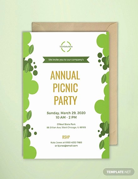 Free Downloadable Picnic Invitation Template Inspirational 24 Picnic Invitation Template Psd Eps Ai