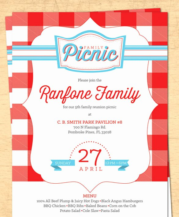 Free Downloadable Picnic Invitation Template Luxury 26 Picnic Invitation Templates Psd Word Ai