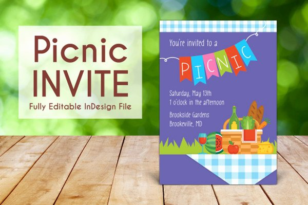 Free Downloadable Picnic Invitation Template New Picnic Invitation Template 18 Free & Premium Download