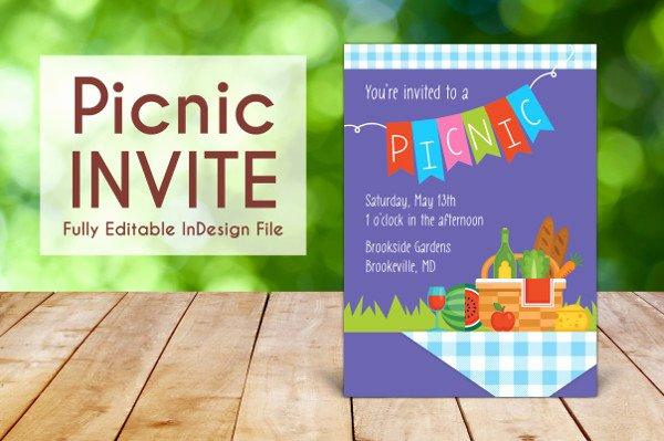 Free Downloadable Picnic Invitation Template New Picnic Invitation Template 18 Free & Premium Download