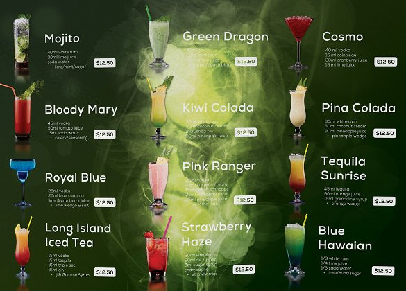 Free Drinks Menu Templates Best Of Drink Menu Templates – 30 Free Psd Eps Documents Download