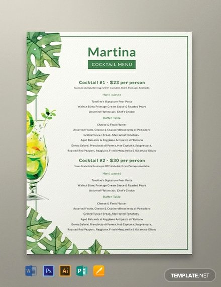 Free Drinks Menu Templates Elegant Free Pizza Menu Template Download 144 Menus In Psd Word Publisher Indesign Illustrator