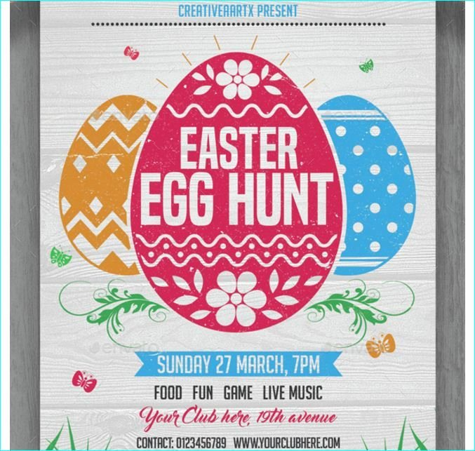 Free Easter Flyer Templates Awesome 101 Best Images About Easter Party Flyer Template On Pinterest