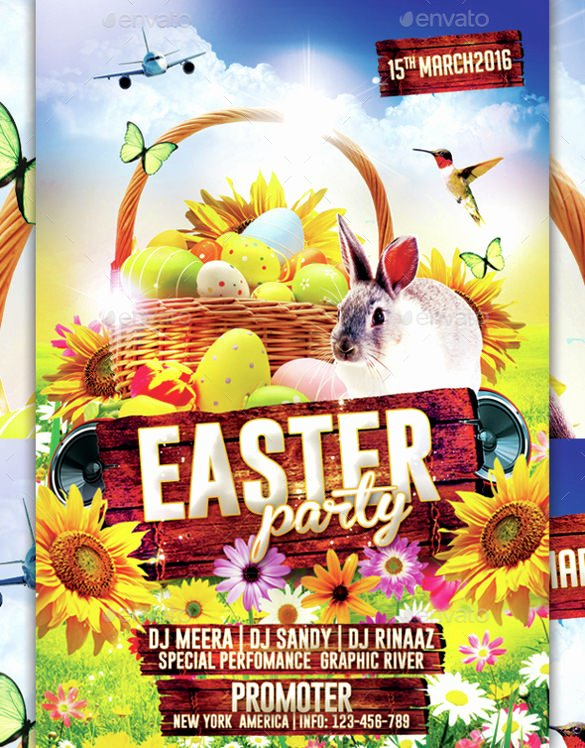 Free Easter Flyer Templates Best Of 33 Easter Flyer Templates Free Sample Example format Download