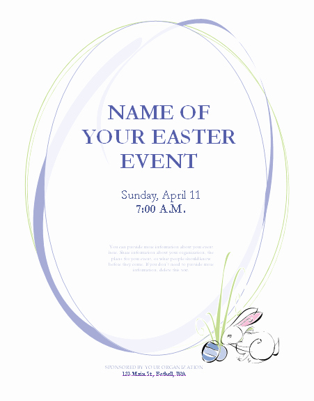 Free Easter Flyer Templates Best Of Easter Flyer Template Flyers