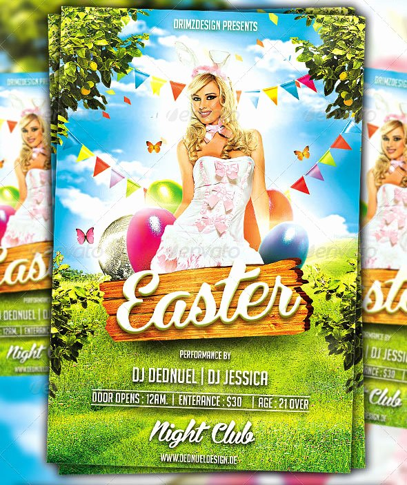 Free Easter Flyer Templates Elegant 40 Premium & Free Easter Party Flyer Templates In Psd for Holidays