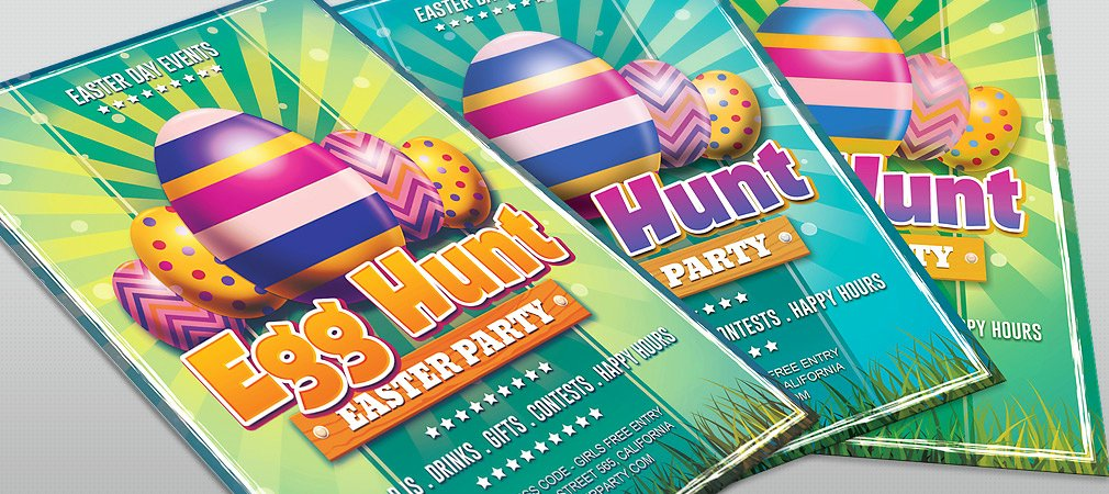 Free Easter Flyer Templates Elegant Free Easter Day Egg Hunt Flyer Hollymolly