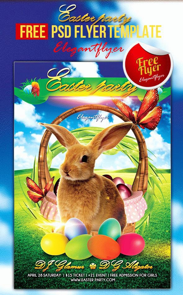 Free Easter Flyer Templates Fresh 40 Premium & Free Easter Party Flyer Templates In Psd for Holidays