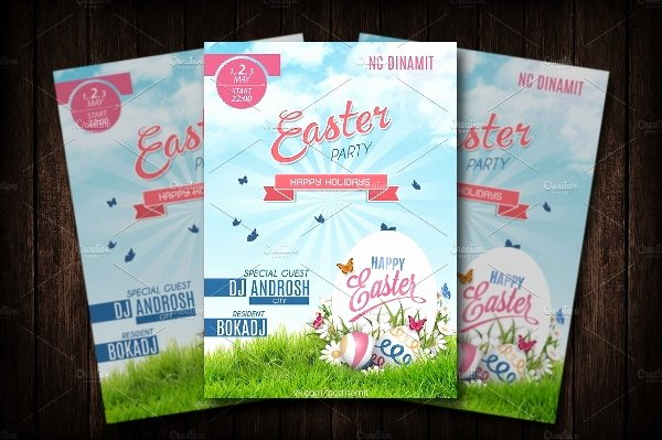 Free Easter Flyer Templates Inspirational 14 Easter Flyer Templates