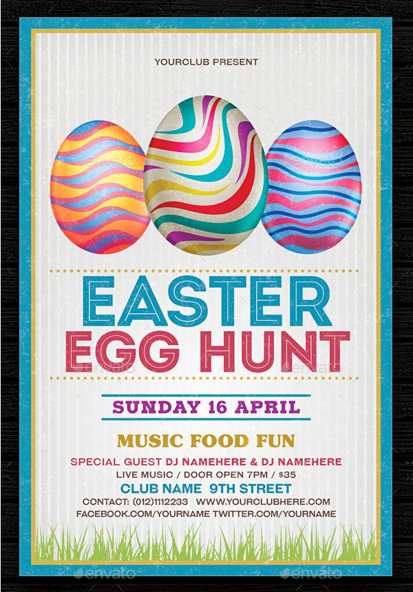 Free Easter Flyer Templates Lovely 35 Easter Flyer Templates Free & Premium Download