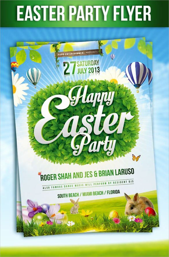 Free Easter Flyer Templates Luxury Easter Flyer Template 28 Download Documents In Vector Psd Psd