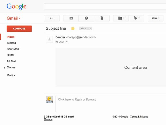 Free Email Templates for Gmail Luxury Gmail Ui Psd Template Freebiesbug