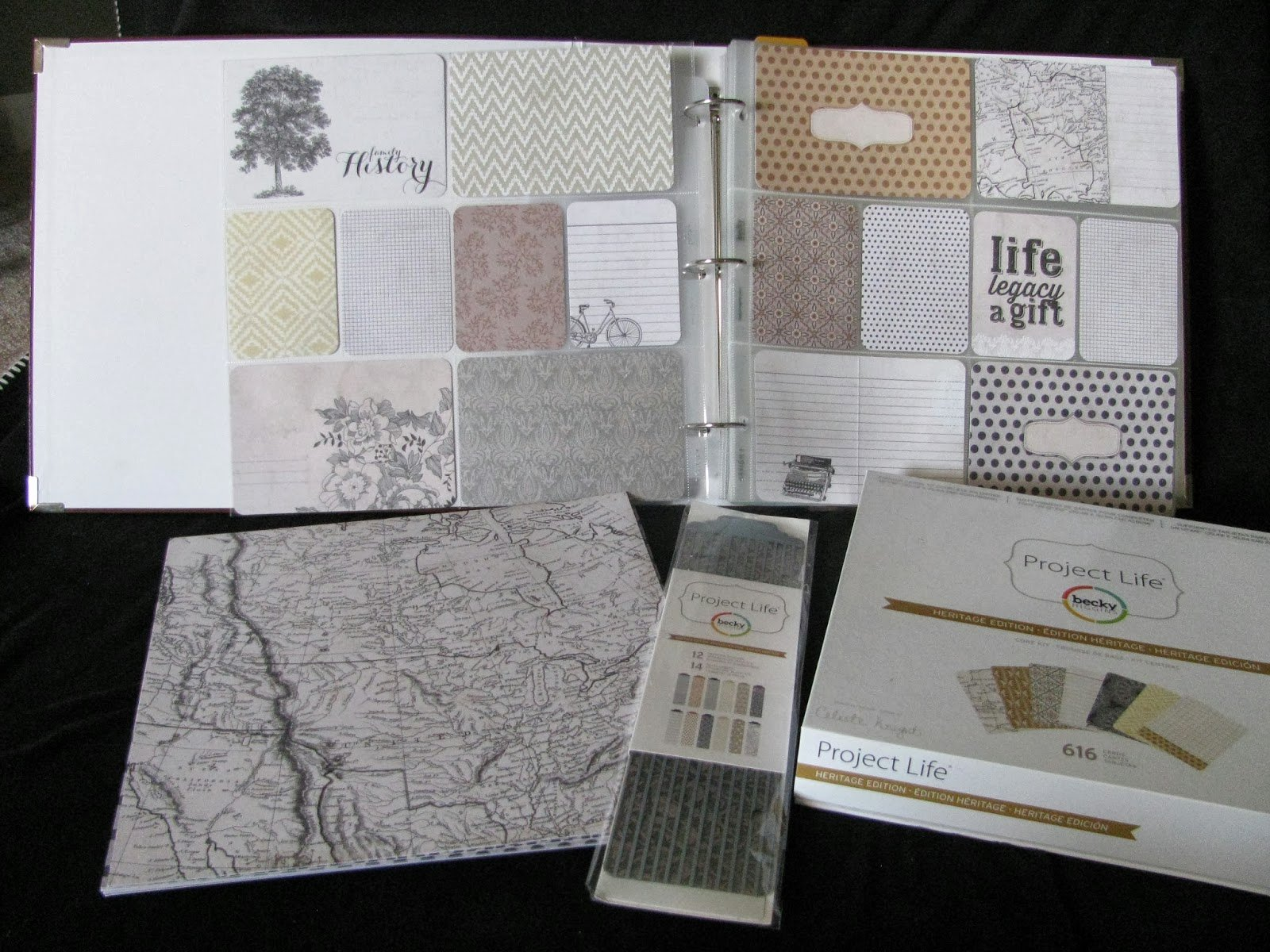 Free Family History Book Template Beautiful Happy2bscrappin & Reviewing Heritage Kit by Project Life