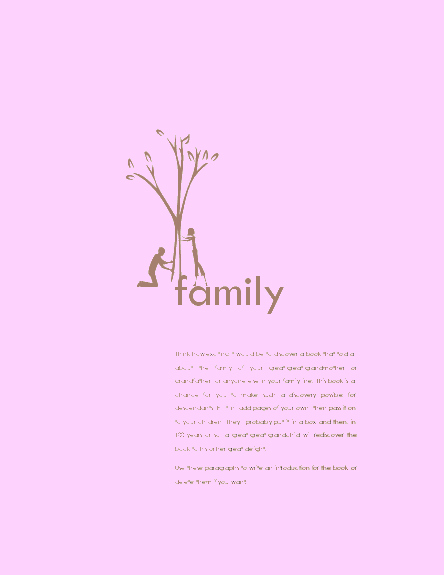 Free Family History Book Template Fresh Download Ms Fice Family History Book Conference Meeting