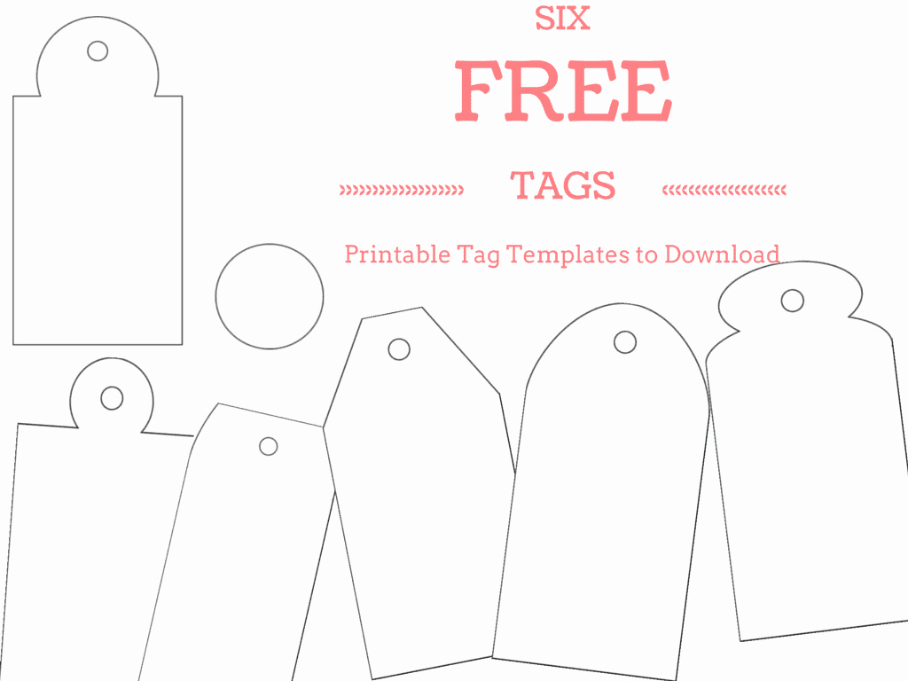 Free Favor Tag Template New 6 Free Printable Gift Tag Templates